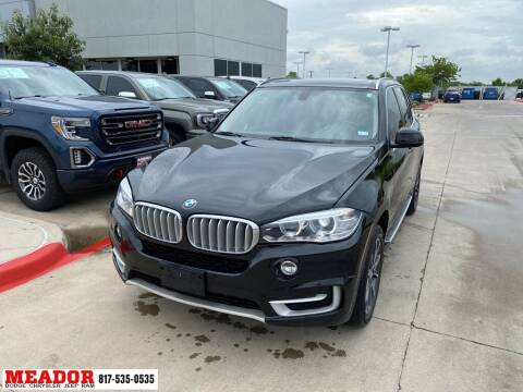 2015 BMW X5 for sale at Meador Dodge Chrysler Jeep RAM in Fort Worth TX