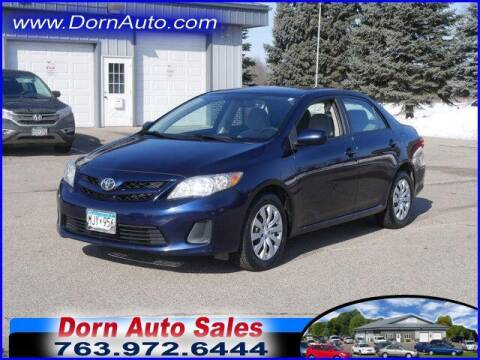 2012 Toyota Corolla for sale at Jim Dorn Auto Sales in Delano MN
