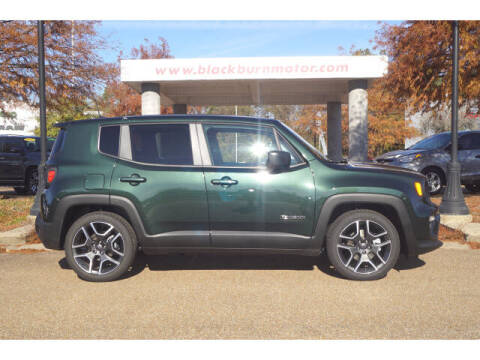 2021 Jeep Renegade for sale at BLACKBURN MOTOR CO in Vicksburg MS