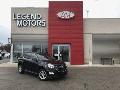 2016 Chevrolet Equinox for sale at Legend Motors of Waterford - Legend Motors of Ferndale in Ferndale MI