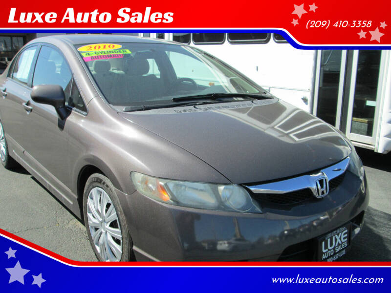 2010 Honda Civic for sale at Luxe Auto Sales in Modesto CA