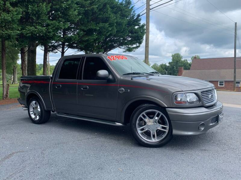 2002 Ford F-150 for sale at Mike's Wholesale Cars in Newton NC