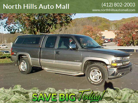2002 Chevrolet Silverado 1500 for sale at North Hills Auto Mall in Pittsburgh PA