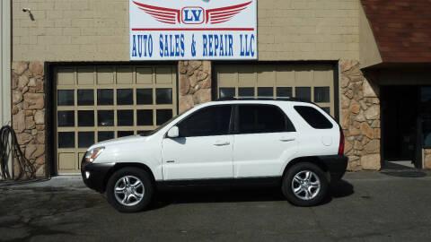 2005 Kia Sportage for sale at LV Auto Sales & Repair, LLC in Yakima WA