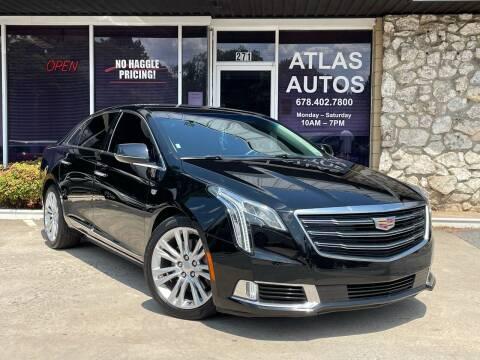 2018 Cadillac XTS for sale at ATLAS AUTOS in Marietta GA