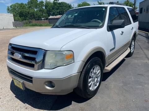 2007 Ford Expedition for sale at Rock Motors LLC in Victoria TX