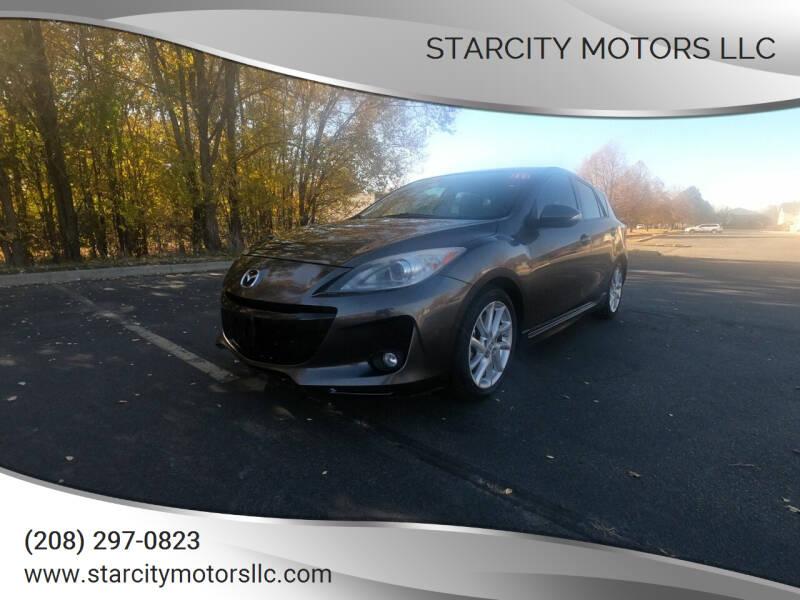 2012 Mazda MAZDA3 for sale at StarCity Motors LLC in Garden City ID