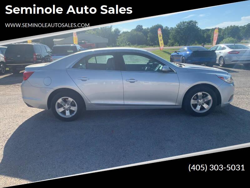 2016 Chevrolet Malibu Limited for sale at Seminole Auto Sales in Seminole OK