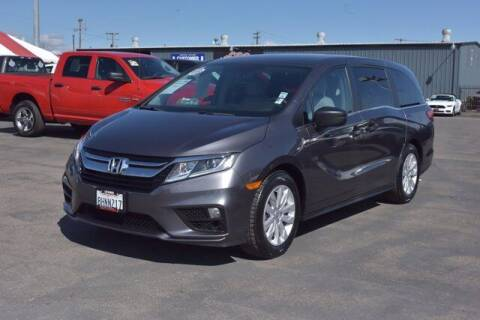 2019 Honda Odyssey for sale at Choice Motors in Merced CA