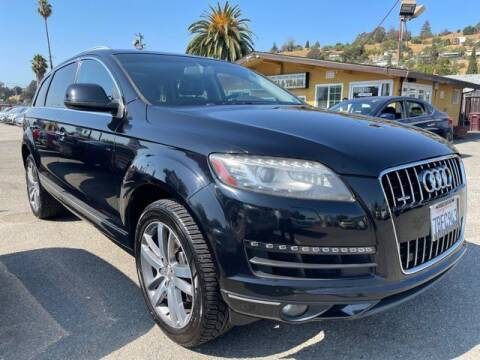 2014 Audi Q7 for sale at MISSION AUTOS in Hayward CA