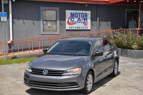 2015 Volkswagen Jetta for sale at Motor Car Concepts II - Kirkman Location in Orlando FL