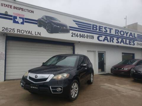 2011 Acura RDX for sale at Best Royal Car Sales in Dallas TX
