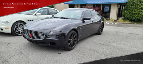 2006 Maserati Quattroporte for sale at German Automotive Service & Sales in Knoxville TN