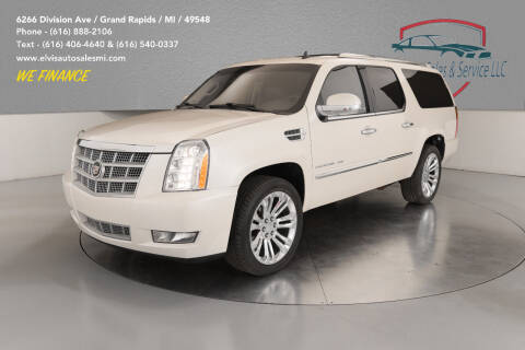 2011 Cadillac Escalade ESV for sale at Elvis Auto Sales LLC in Grand Rapids MI