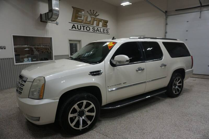 2008 Cadillac Escalade ESV for sale at Elite Auto Sales in Ammon ID