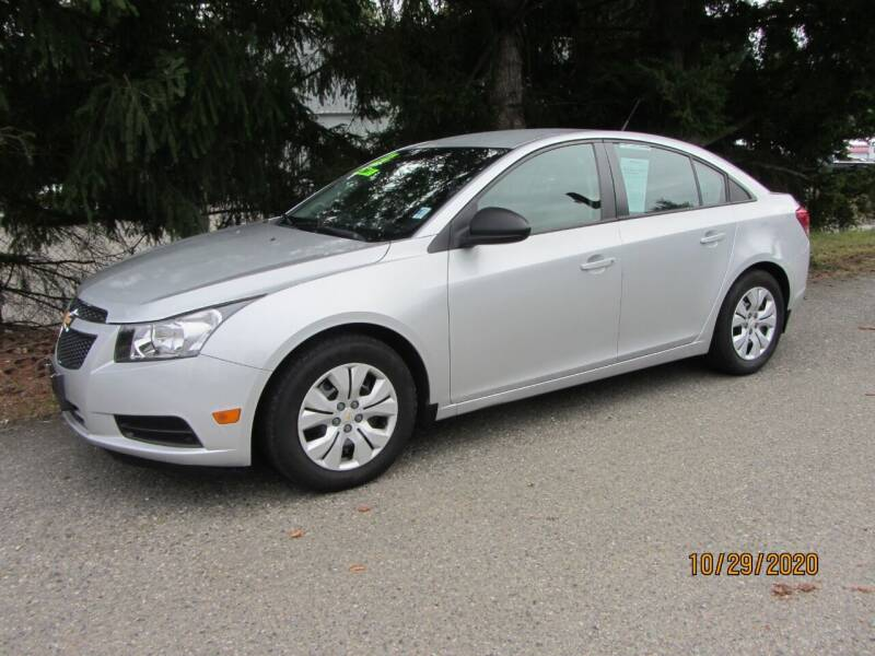 2013 Chevrolet Cruze for sale at B & C Northwest Auto Sales in Olympia WA