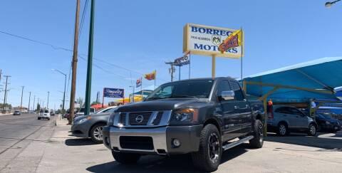 2011 Nissan Titan for sale at Borrego Motors in El Paso TX