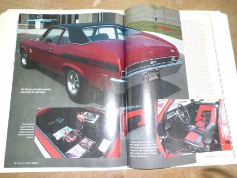 1969 Chevrolet Nova for sale at Bob Patterson Auto Sales in East Alton IL