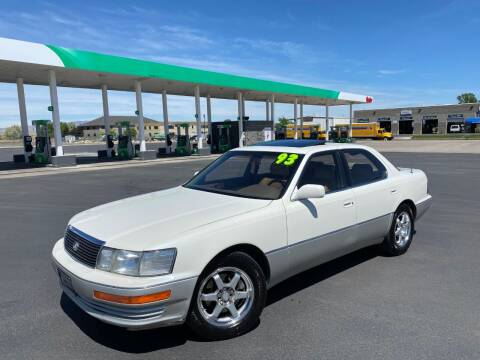 1993 Lexus LS 400 for sale at Evolution Auto Sales LLC in Springville UT