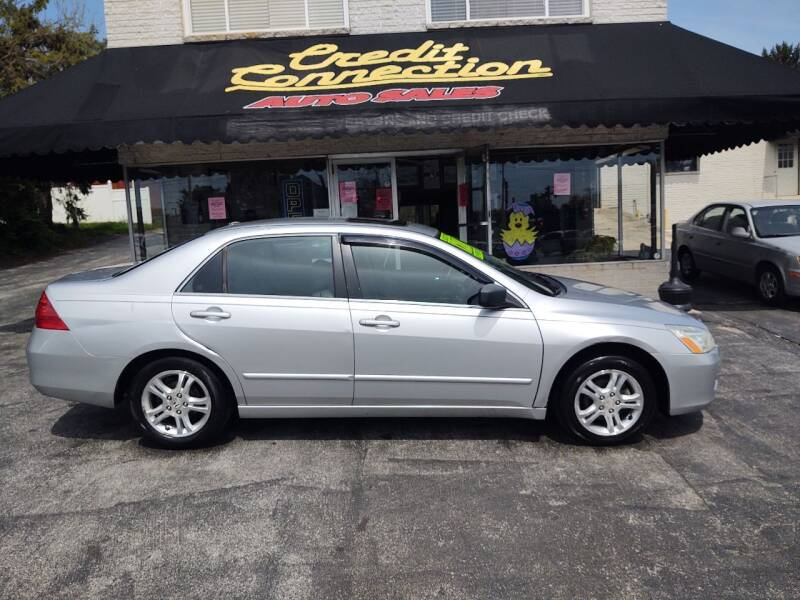 2006 Honda Accord for sale at Credit Connection Auto Sales Inc. YORK in York PA