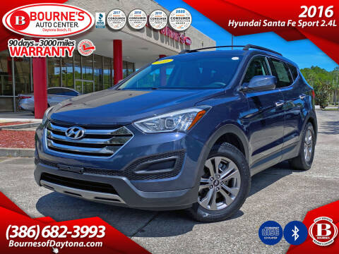 2016 Hyundai Santa Fe Sport for sale at Bourne's Auto Center in Daytona Beach FL