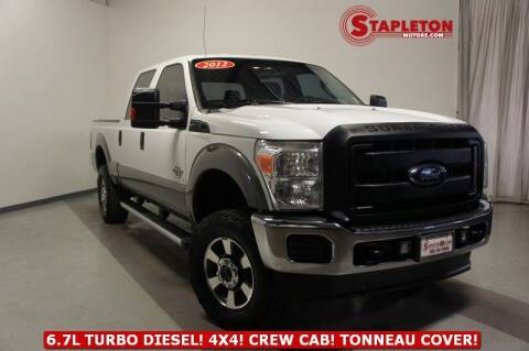 2012 Ford F-250 Super Duty for sale at STAPLETON MOTORS in Commerce City CO