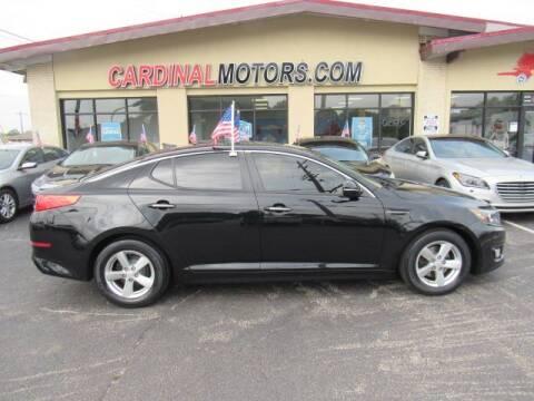 2015 Kia Optima for sale at Cardinal Motors in Fairfield OH
