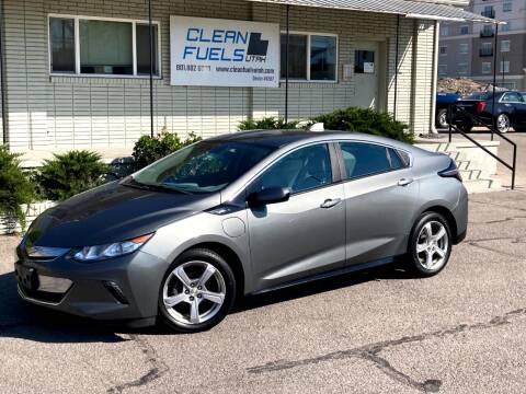 2017 Chevrolet Volt for sale at Clean Fuels Utah in Orem UT