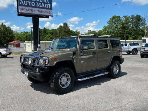 2006 HUMMER H2 for sale at Alexandria Auto Mart LLC in Alexandria PA
