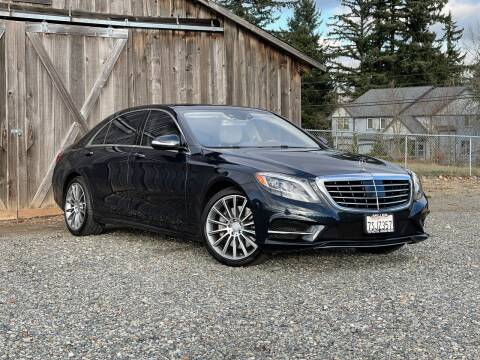 2016 Mercedes-Benz S-Class for sale at LKL Motors in Puyallup WA