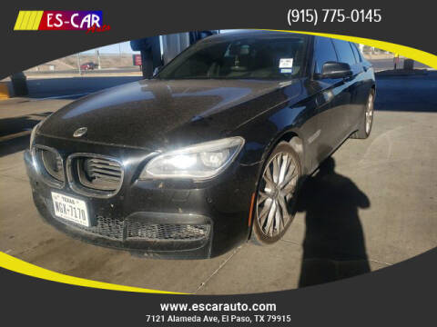 2014 BMW 7 Series for sale at Escar Auto in El Paso TX
