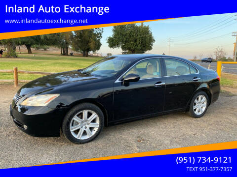 2008 Lexus ES 350 for sale at Inland Auto Exchange in Norco CA