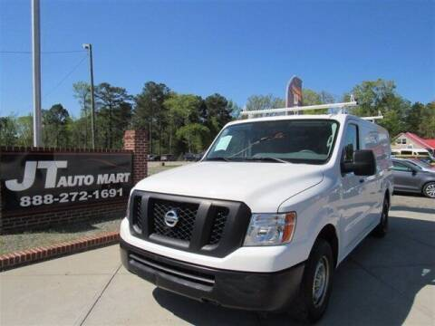 2019 Nissan NV Cargo for sale at J T Auto Group in Sanford NC