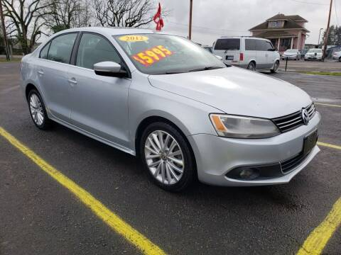 2012 Volkswagen Jetta for sale at Low Price Auto and Truck Sales, LLC in Brooks OR