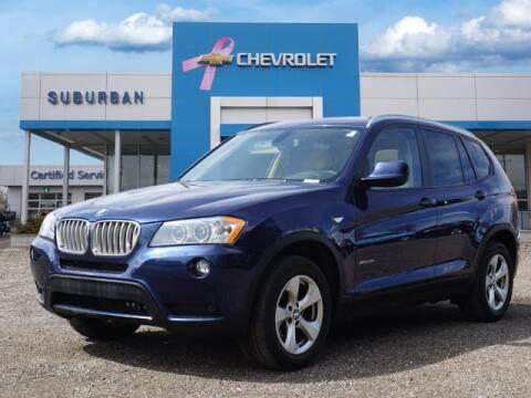 2012 BMW X3 for sale at Suburban Chevrolet of Ann Arbor in Ann Arbor MI