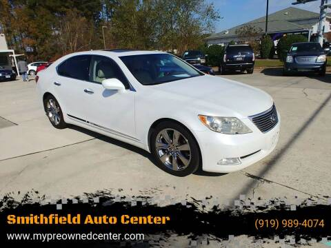 2008 Lexus LS 460 for sale at Smithfield Auto Center LLC in Smithfield NC