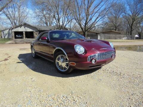 2004 Ford Thunderbird for sale at D & P Sales LLC in Wichita KS