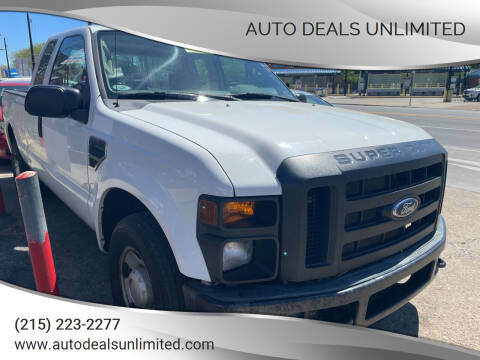 2008 Ford F-250 Super Duty for sale at AUTO DEALS UNLIMITED in Philadelphia PA