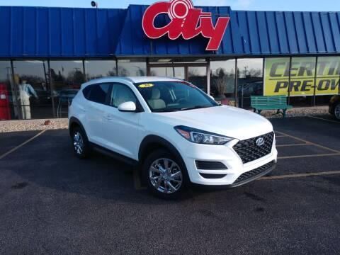 2020 Hyundai Tucson for sale at CITY SELECT MOTORS in Galesburg IL