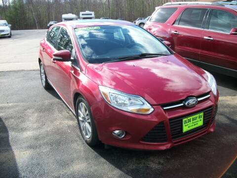 2012 Ford Focus for sale at Olde Bay RV in Rochester NH