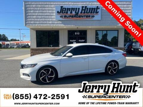 2018 Honda Accord for sale at Jerry Hunt Supercenter in Lexington NC