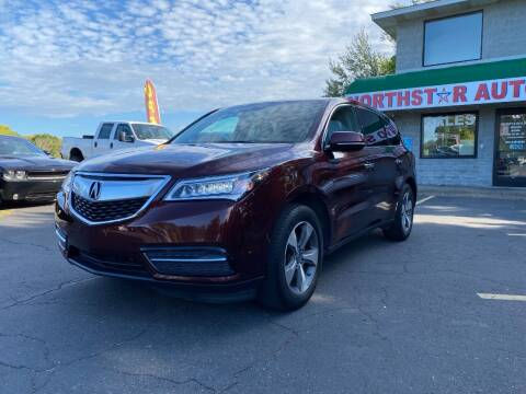 2016 Acura MDX for sale at Northstar Auto Sales LLC in Ham Lake MN