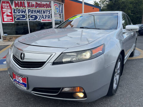 2012 Acura TL for sale at US AUTO SALES in Baltimore MD