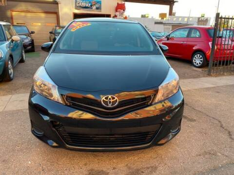 2014 Toyota Yaris for sale at Sanaa Auto Sales LLC in Denver CO