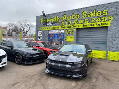 2020 Dodge Charger for sale at Friendly Auto Sales in Detroit MI