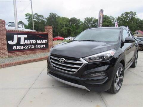 2018 Hyundai Tucson for sale at J T Auto Group in Sanford NC
