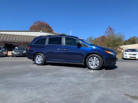 2016 Honda Odyssey for sale at MARLAR AUTO MART SOUTH in Oneida TN