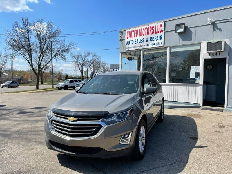 2018 Chevrolet Equinox for sale at United Motors LLC in Saint Francis WI