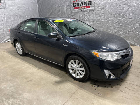 2012 Toyota Camry Hybrid for sale at GRAND AUTO SALES in Grand Island NE