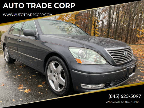2006 Lexus LS 430 for sale at AUTO TRADE CORP in Nanuet NY